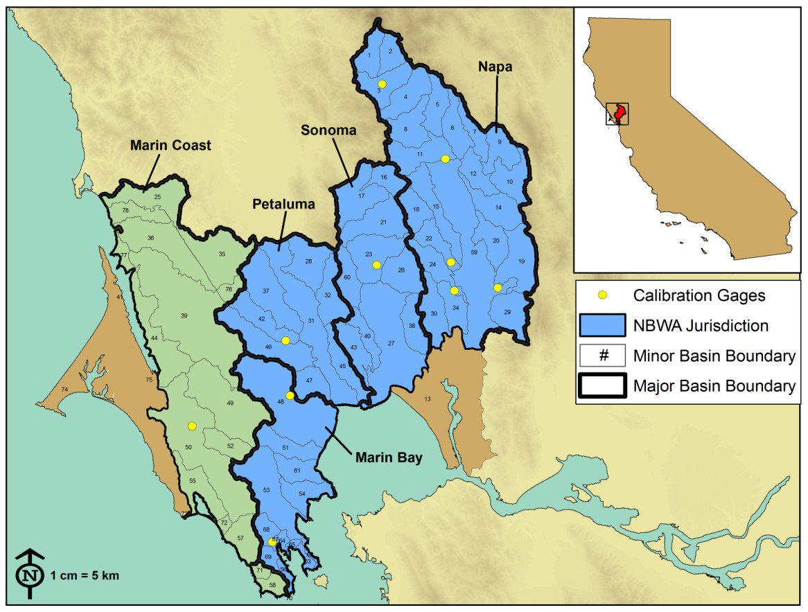 Bay Area Watershed yst: About the Watersheds | California ... California Watershed Map on